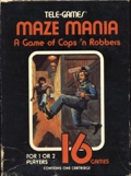 Maze Mania: A Game of Cops 'n Robbers